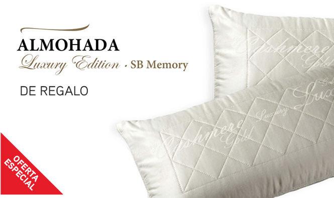 Promoción especial de verano de las almohadas SB Memory de SB Descanso.