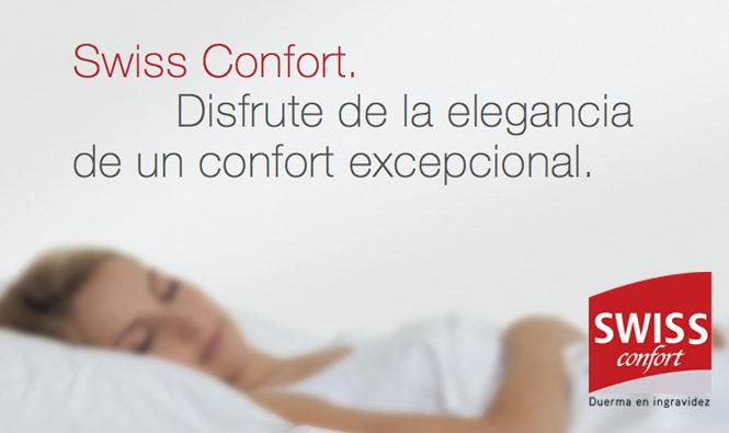 Swiss Confort. Disfruta de la elegancia de un confort excepcional.