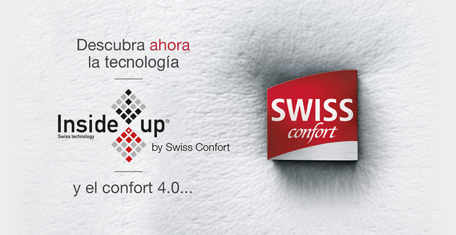 Swiss Confort, tecnología Inside Up.