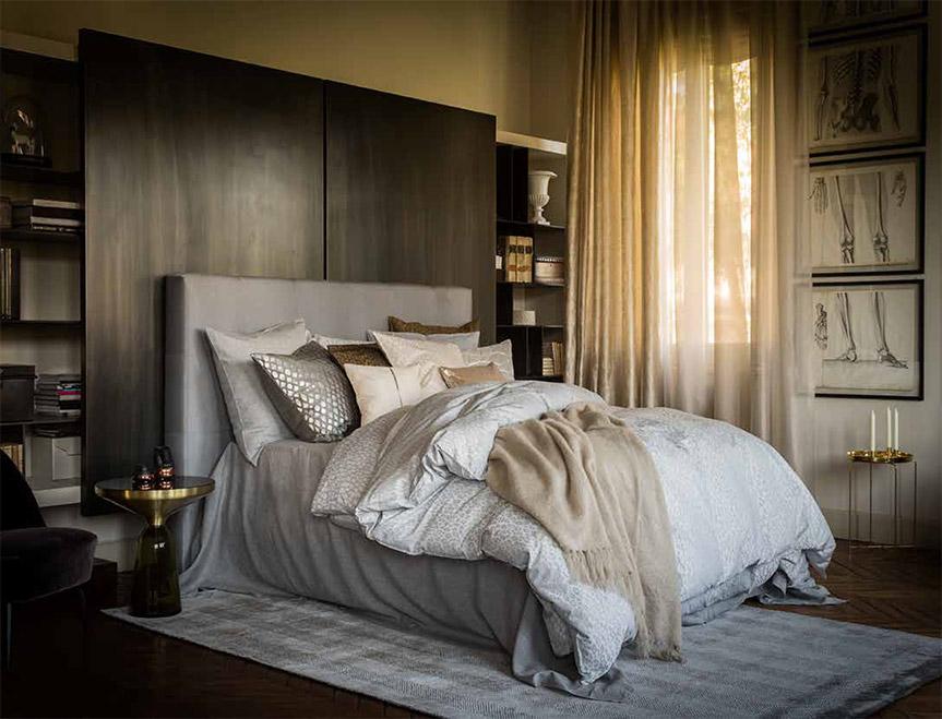 Ropa de cama de calidad de CChristian Fischbacher, colección de otoño.