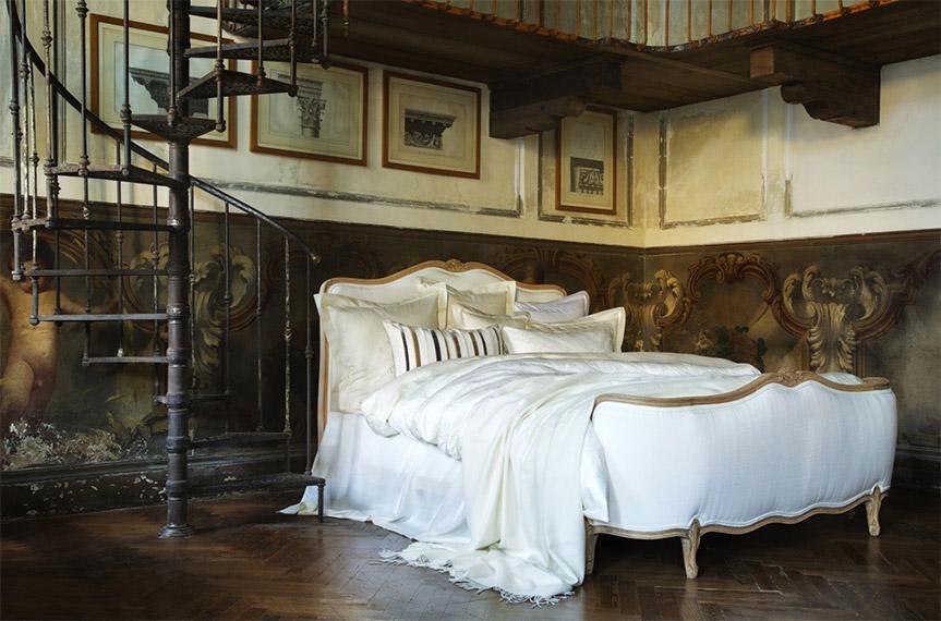 Ropa de cama de calidad de Christian Fischbacher, colección de otoño.