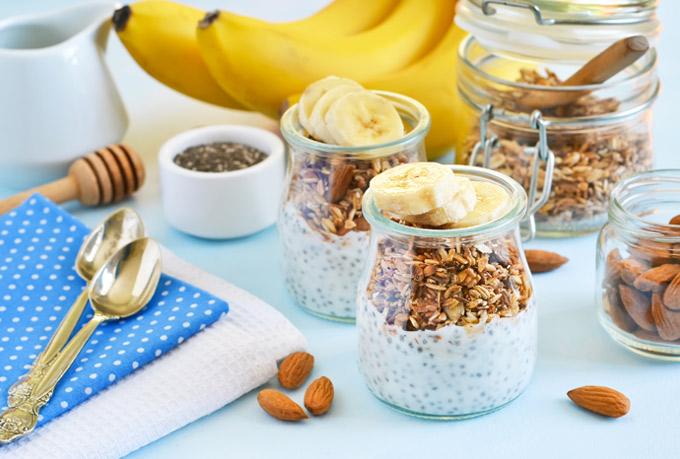 Plátanos, cereales y sésamo para combatir el insomnio