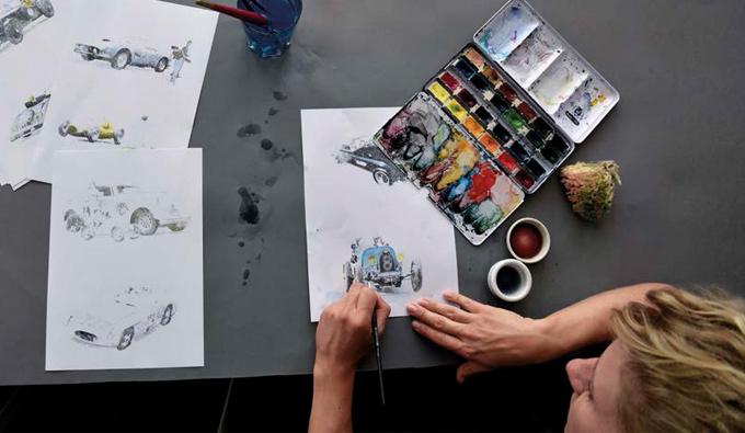 Diseños colección otoño de Christian Fichbacher