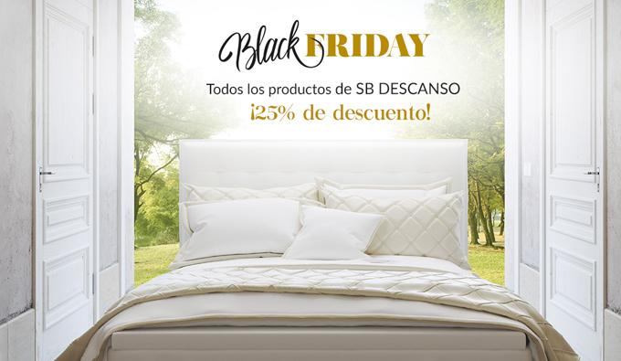 25% de descuento en los productos de SB Descanso