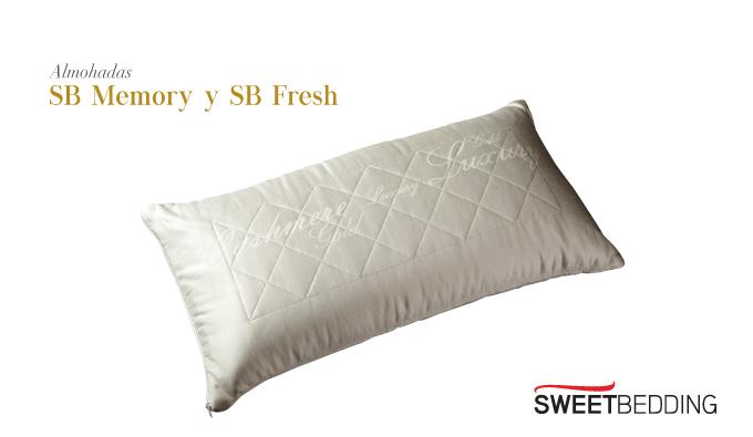 Almohadas Sb memory y Sb fresh
