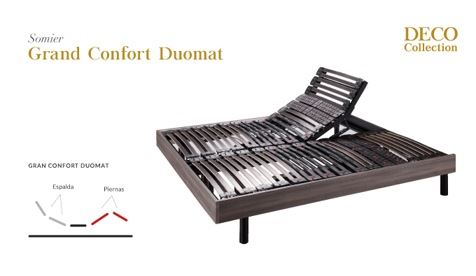 Somier Grand Confort Duomat