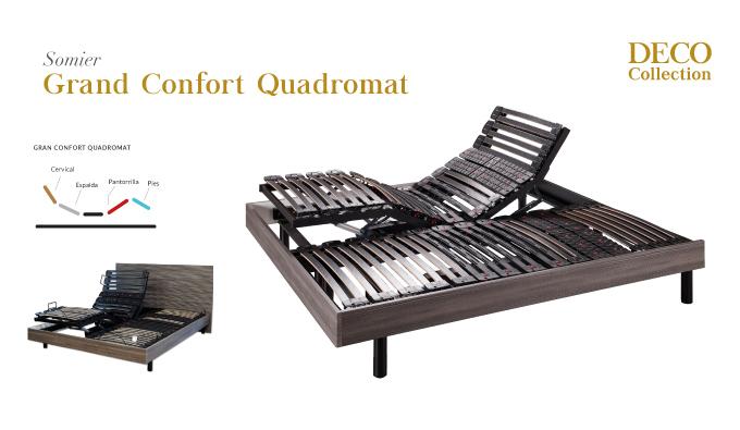 Somier Grand Confort Quadromat
