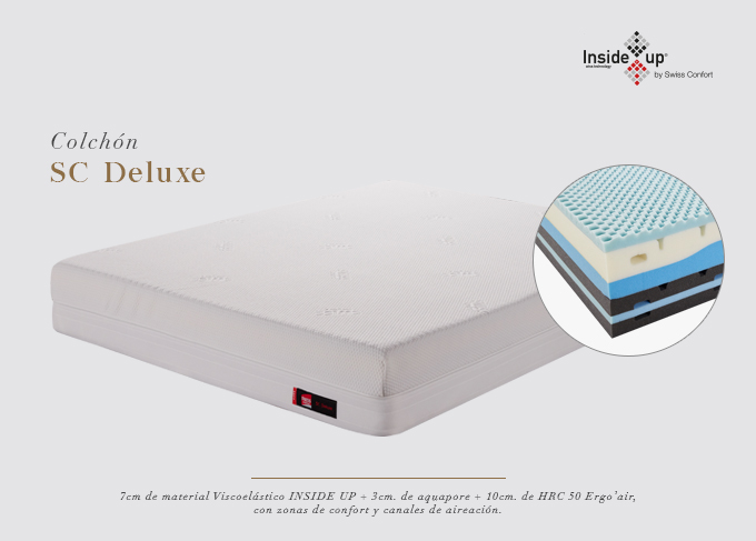 BEDDING TECH - COLCHÓN SC DELUXE