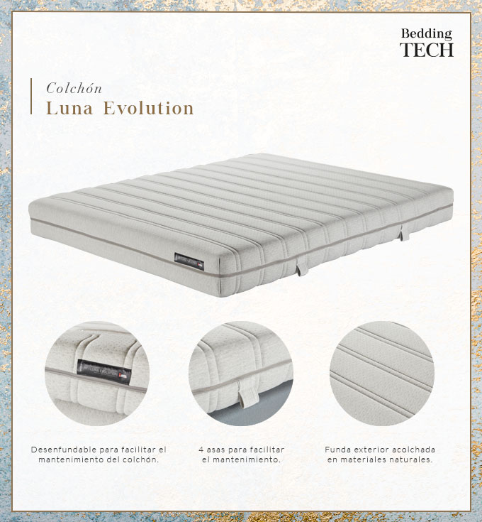 Bedding Tech - Colchón Luna Evolution