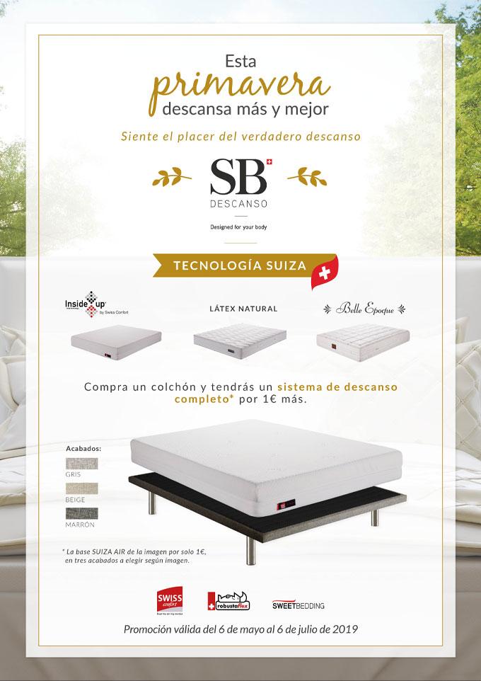 SB Descanso - Promoción primavera
