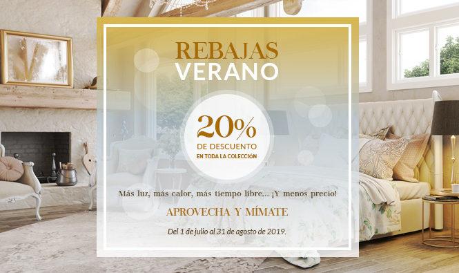 REBAJAS DE VERANO. 20% DE DESCUENTO EN TODOS NUESTROS PRODUCTOS