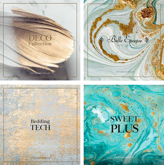 Colecciones SB Descanso: Deco Collection, Belle Epoque, Bedding Tech y Sweet Plus