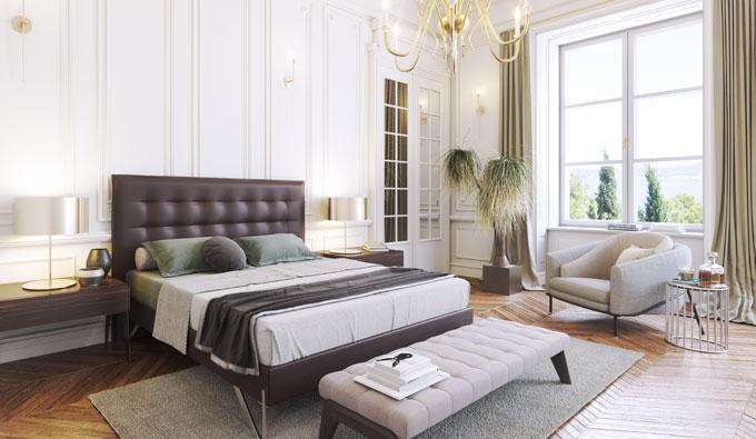 SB Descanso habitación con productos de descanso de lujo