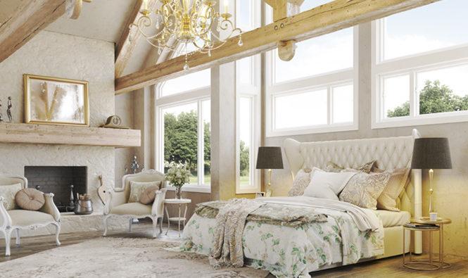 Imagen destacada de una habitación con la colección Belle Epoque