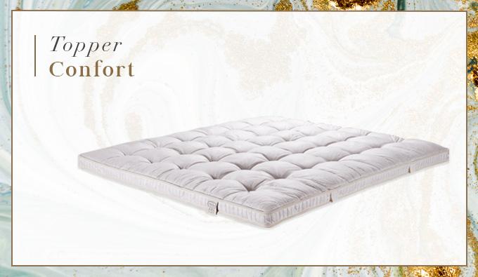 Imagen del topper Confort de la colección Belle Epoque disponible en SB Descanso