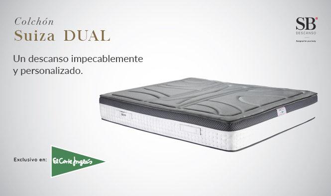 Colchón Suiza Dual, en El Corte Inglés