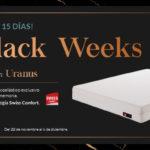 Black Weeks: colchón Uranus de Swiss Confort, ¡al 30% de descuento!