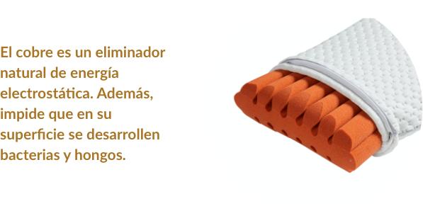 SB Copper, la almohada de cobre que evita los campos electromagnéticos